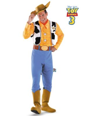 Mens Plus Size Toy Story Deluxe Woody Costume