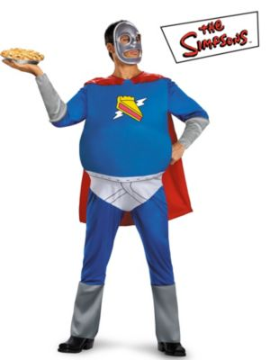 The Simpsons Homer Pie-Man Adult Costume