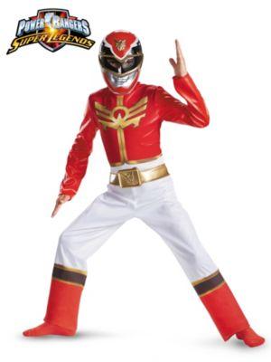 Child Power Rangers Red Ranger Megaforce Classic Costume