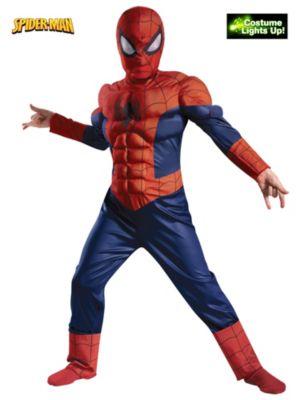 Child Light Up Spiderman Costume