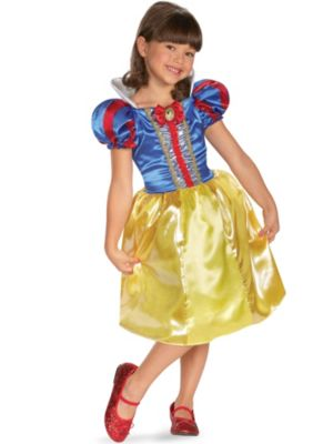 Child Disney Snow White Sparkle Classic Costume