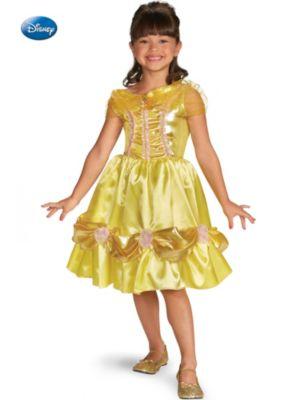 Child Disney Belle Sparkle Classic Costume