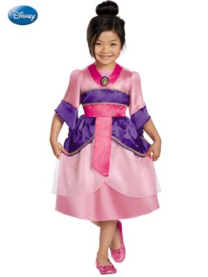 Mulan Sparkle Classic Girl's Costume