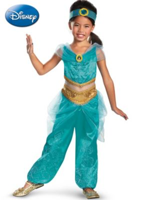Child Jasmine Sparkle Deluxe Costume