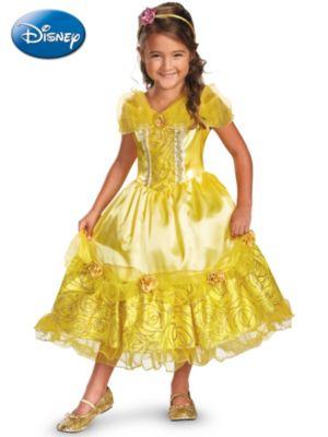 Child Belle Sparkle Deluxe Costume