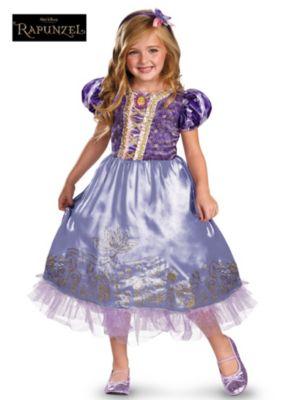 Child Rapunzel Sparkle Costume