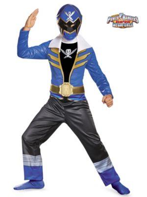 Child Blue Ranger Super Mega Classic Costume