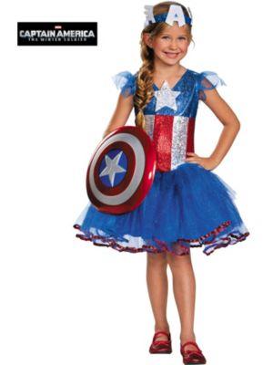Child American Dream Tutu Costume