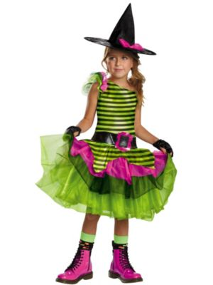 Child Whimsy Witch Costume