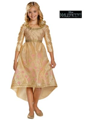 Maleficent Child Aurora Coronation Gown Classic Costume