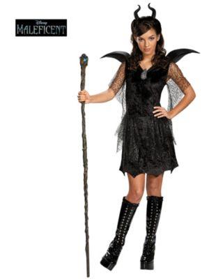 Child Maleficent Black Gown Tween/Teen Deluxe Costume
