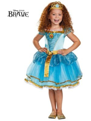 Child Merida Tutu Prestige Costume