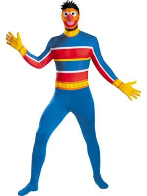 Ernie Bodysuit X-Large Costume