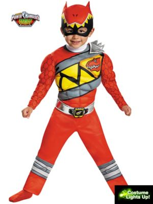 RED RANGER DINO CHARGE LIGHT UP MOTION A