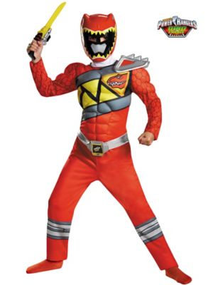 RED RANGER DINO CHARGE CLASSIC MUSCLE