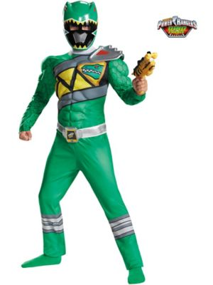 GREEN RANGER DINO CHARGE CLASSIC MUSCLE