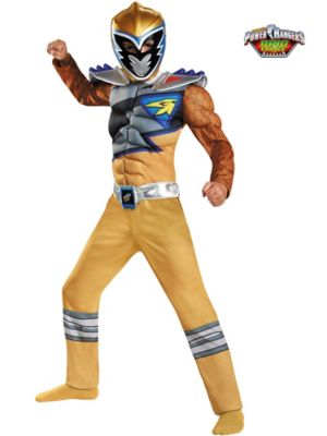 GOLD RANGER DINO CHARGE CLASSIC MUSCLE
