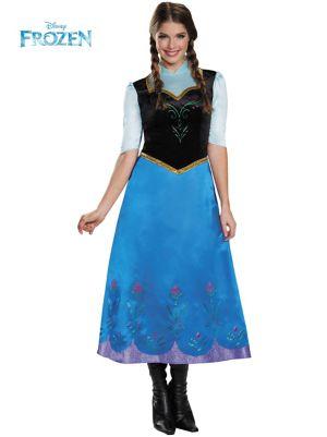 Adult Disney's Frozen Anna Traveling Deluxe Costume