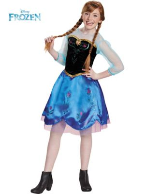 ANNA TRAVELING TWEEN COSTUME