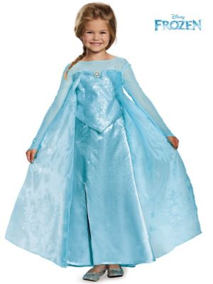 ELSA ULTRA PRESTIGE GIRLS COSTUME