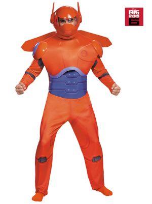 Adult Disney's Big Hero 6 Red Baymax Costume