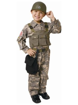 Child Navy Special Forces Costume