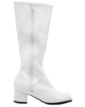 White Patent Gogo Boot Child