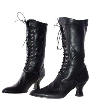 Black Mid Calf Boot Adult