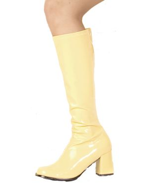Yellow Patent Gogo Boot Adult