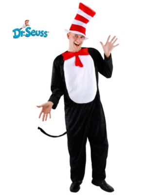 Adult Cat In the Hat Costume - SM