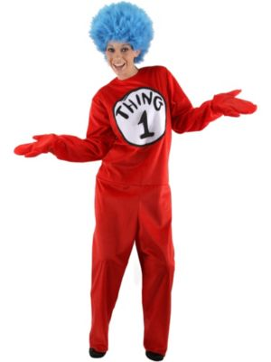 Deluxe Dr. Seuss Thing Adult Costume