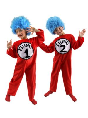 Deluxe Dr. Seuss Thing Child Costume