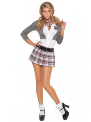 Sexy Adult Queen of Detention Costume