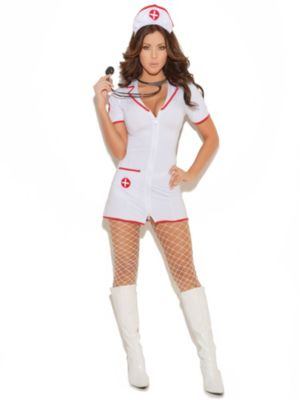 Sexy Adult Head Nurse Costume