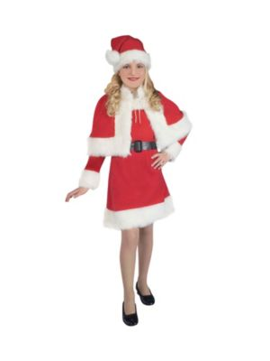 Lil' Miss Santa Girls Costume