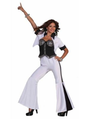 Disco Fever Womens Diva Costume