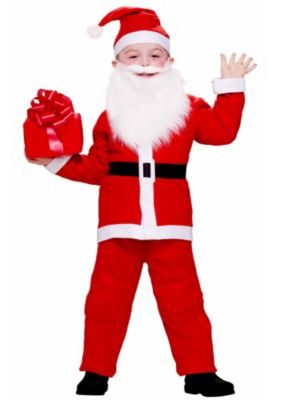 Simply Santa Child Costume