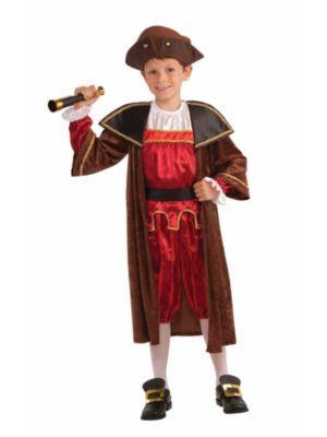 Child Christopher Columbus Costume