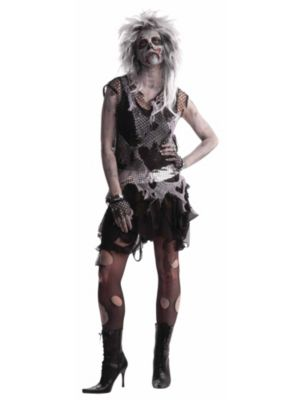 Adult  Punk Zombie Costume