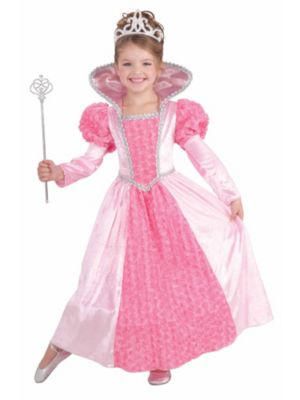 Child Princess Rose Costume