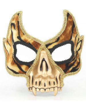 Gold Venetian Skull Mask