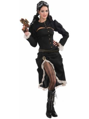 Adult Steam Punk Renegade Costume