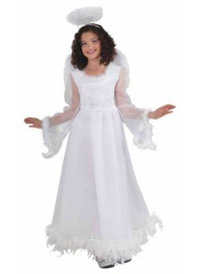 Fluttery Angel Girls Costume
