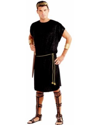 Adult Black Tunic X-Large Costume