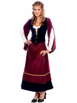 Adult Medieval Wench Costume