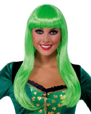 St. Patrick's Day Irish Lass Wig