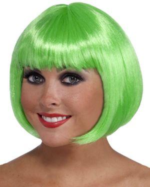 Short St. Patrick's Green Wig