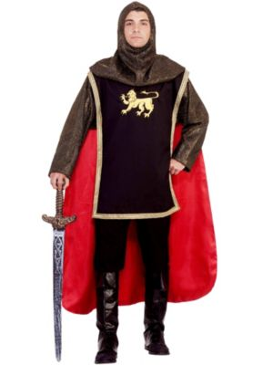 Adult Gold and Brown Medieval Knight Costume