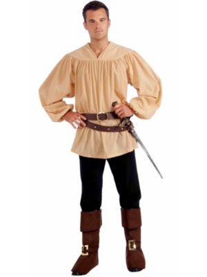 Adult  Beige Medieval Shirt