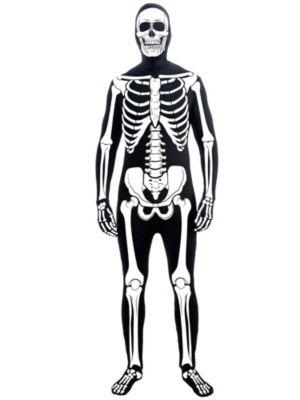 Adult Skeleton Man Skin Suit Costume
